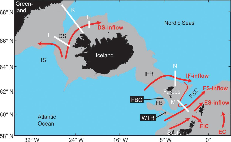 OS - Arctic Mediterranean exchanges: a consistent volume
